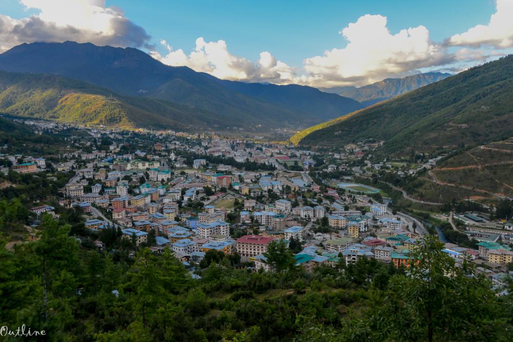 City of Thimphu