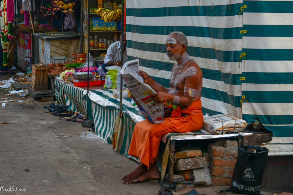 Man in Mylapore