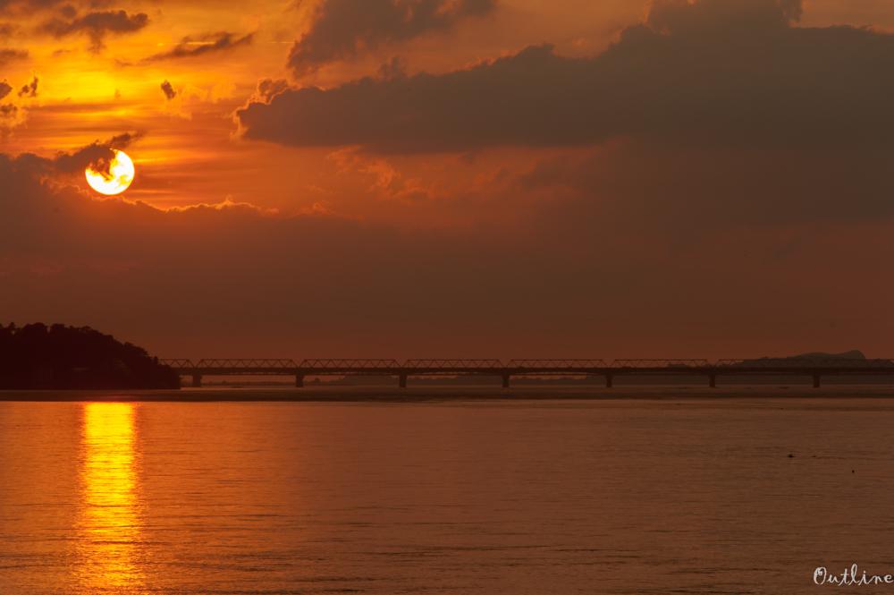 Vibrant sunset...