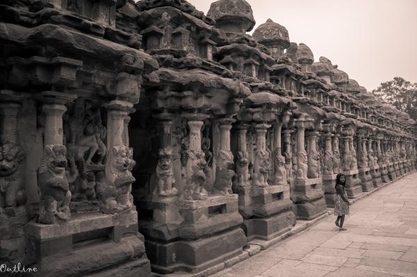 Corridors of Kailasanathar