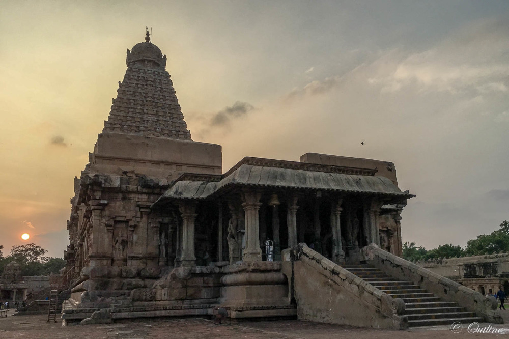 Big Temple at dusk