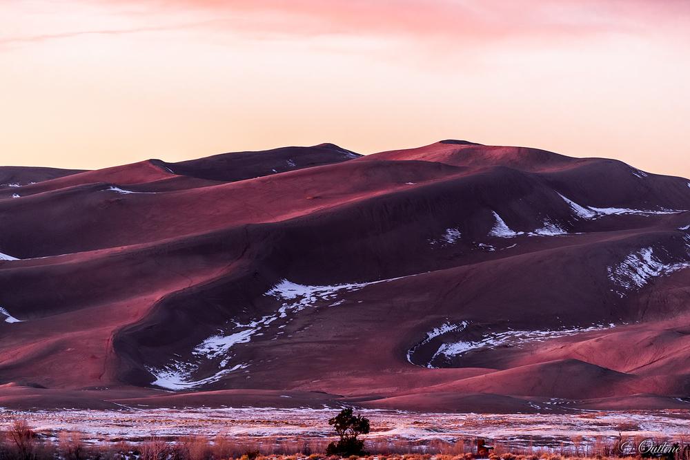 The dunes...