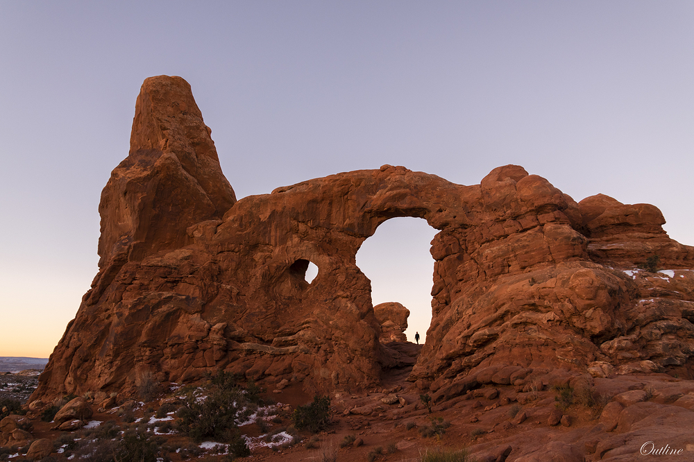 A morning at Arches...