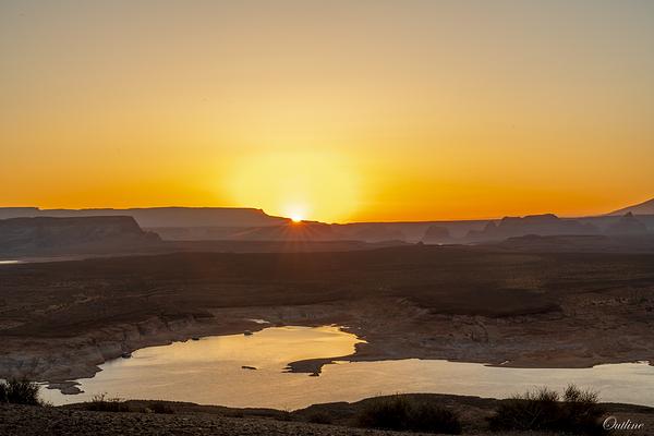 Dawn at the Wahweap