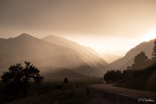 Rocky Mountain evening...
