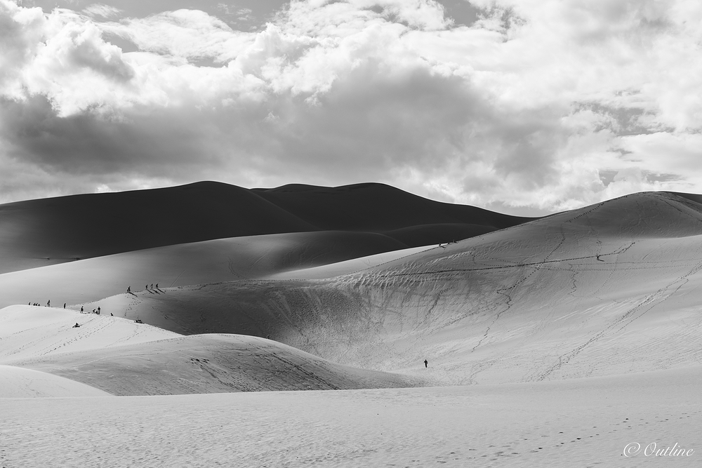 Layers of the dune...