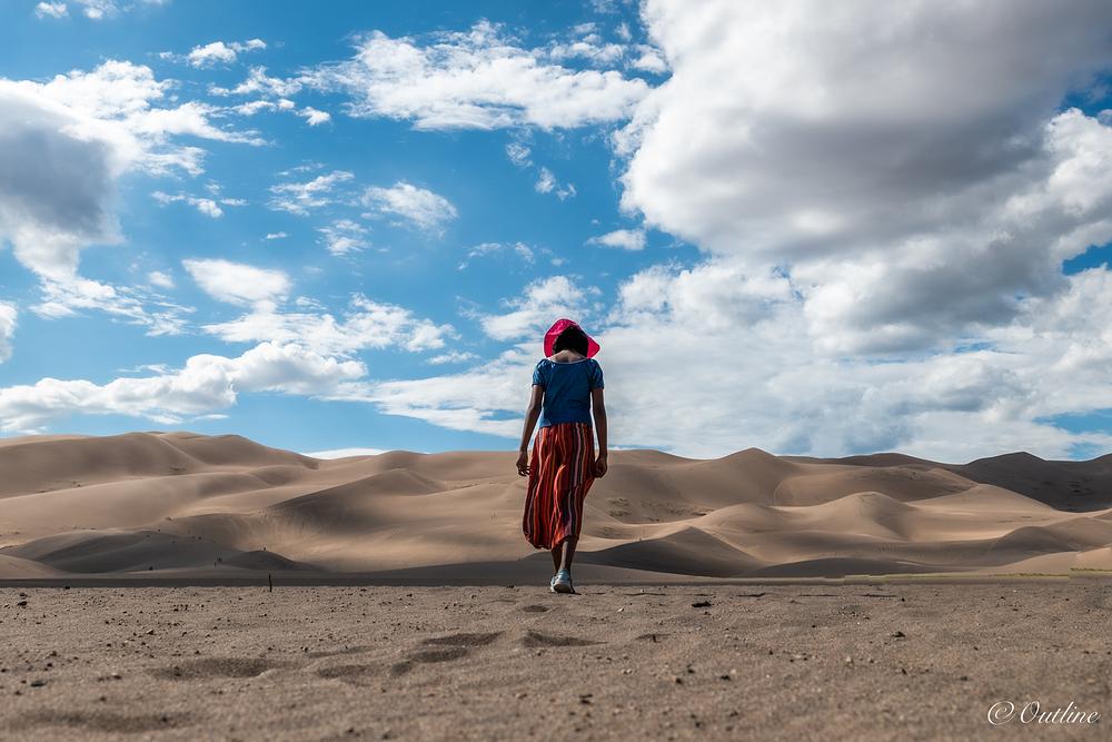 Walk the dune...