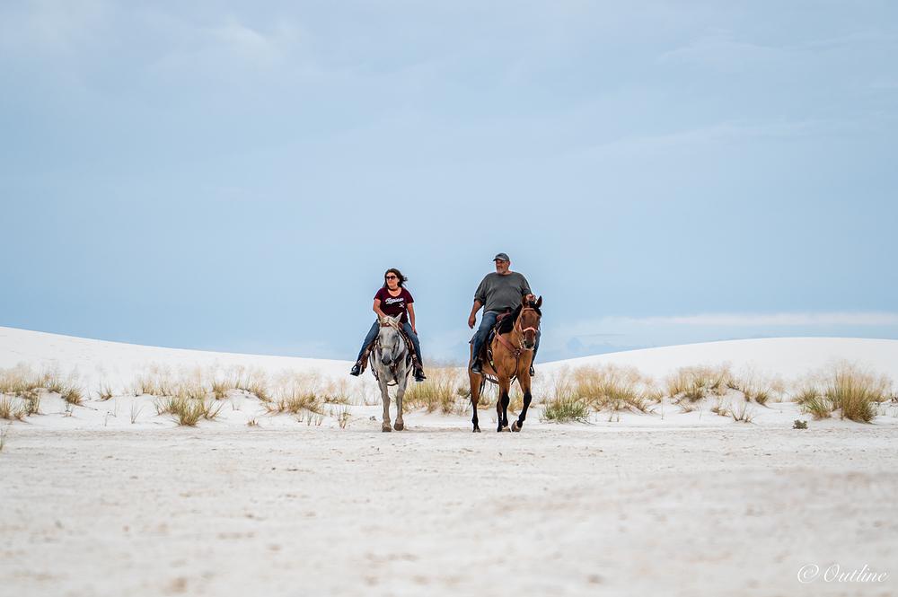 Riders of dune...