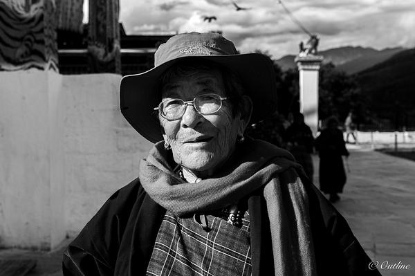 A Woman in Thimphu