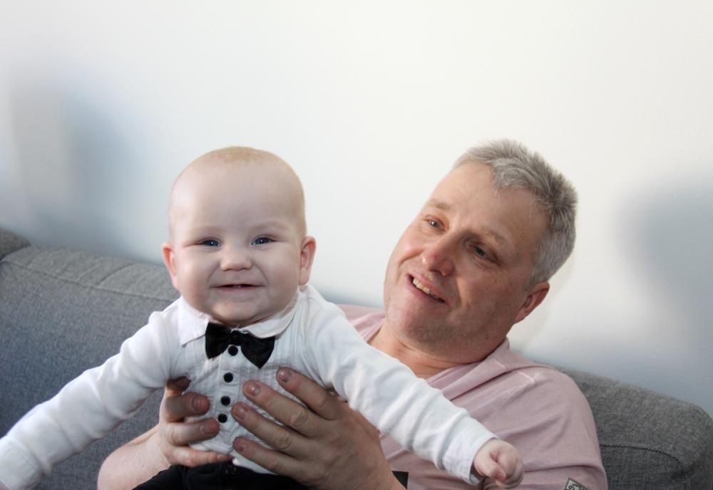 Me and my Grandchild