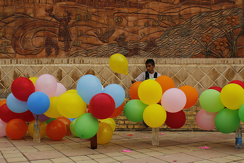 The Balloon seller`s Wishes