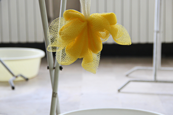 Washcloth Flower
