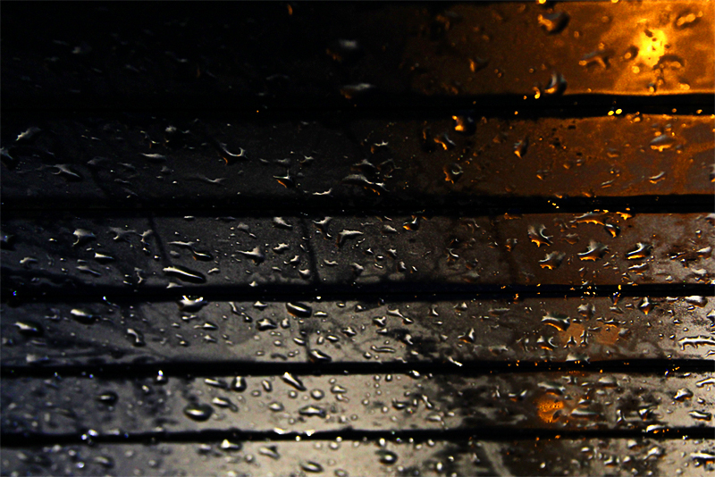 A Rainy Night In The Car