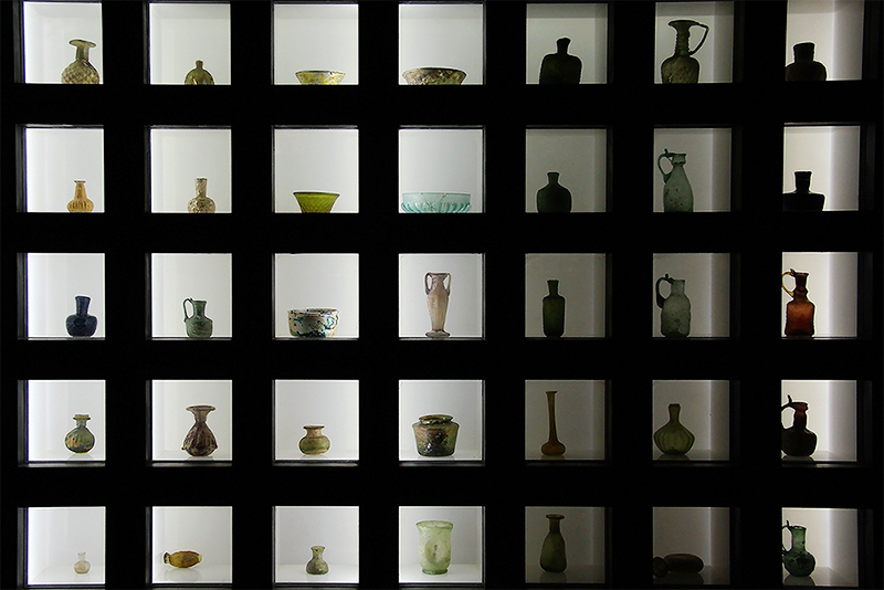 At Glassware Museum-1