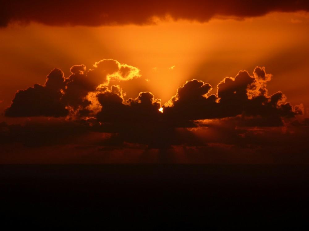 Stromboli's sunset