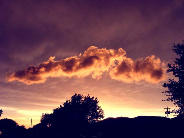 Cloud over my head