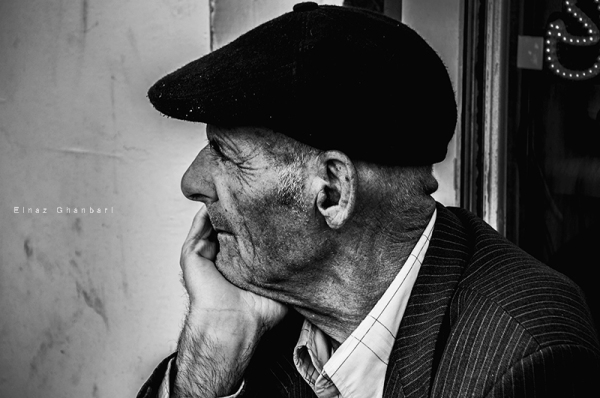 portrait , old man