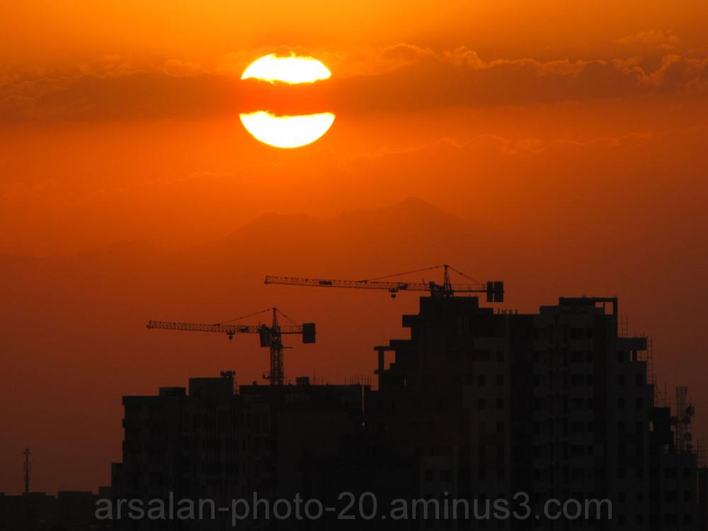 red of the sundown
