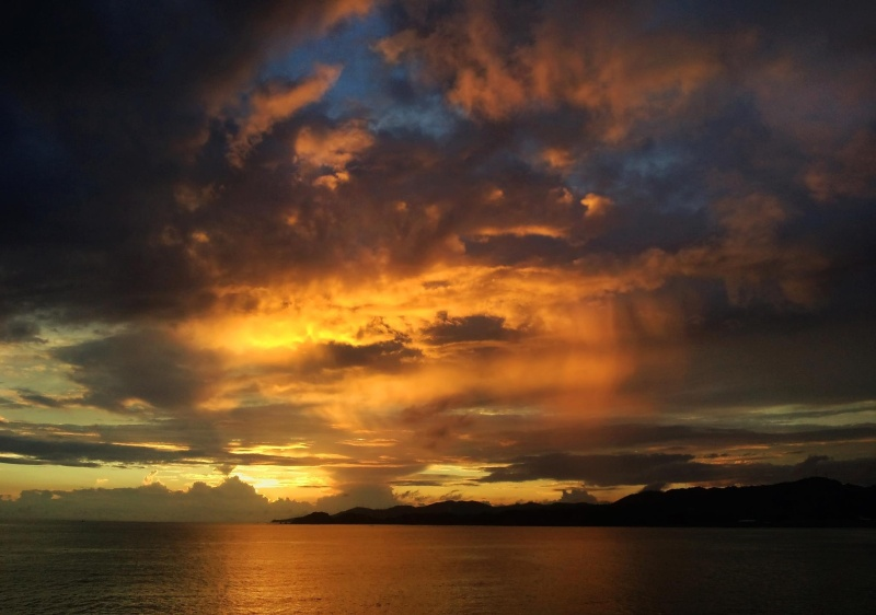 Sunset  Wakayama Japan