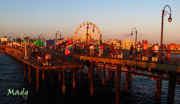 Pier Santa Monica, California