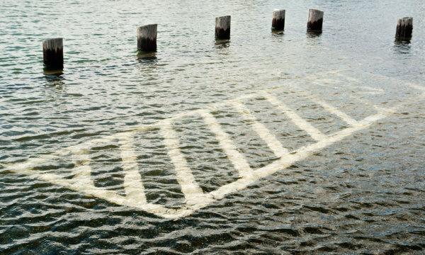 Lake Champlain at Flood Stage