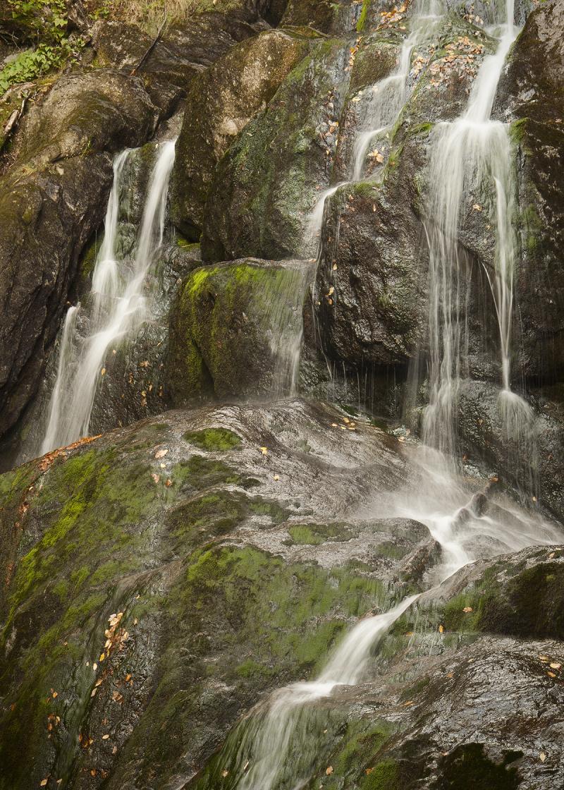 Moss Glenn Falls in Vermont