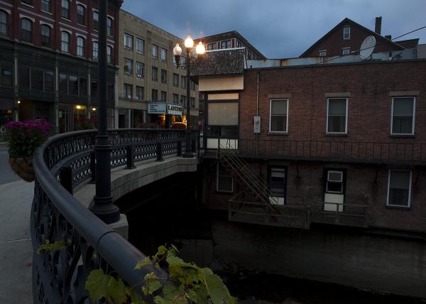 Brattleboro at night