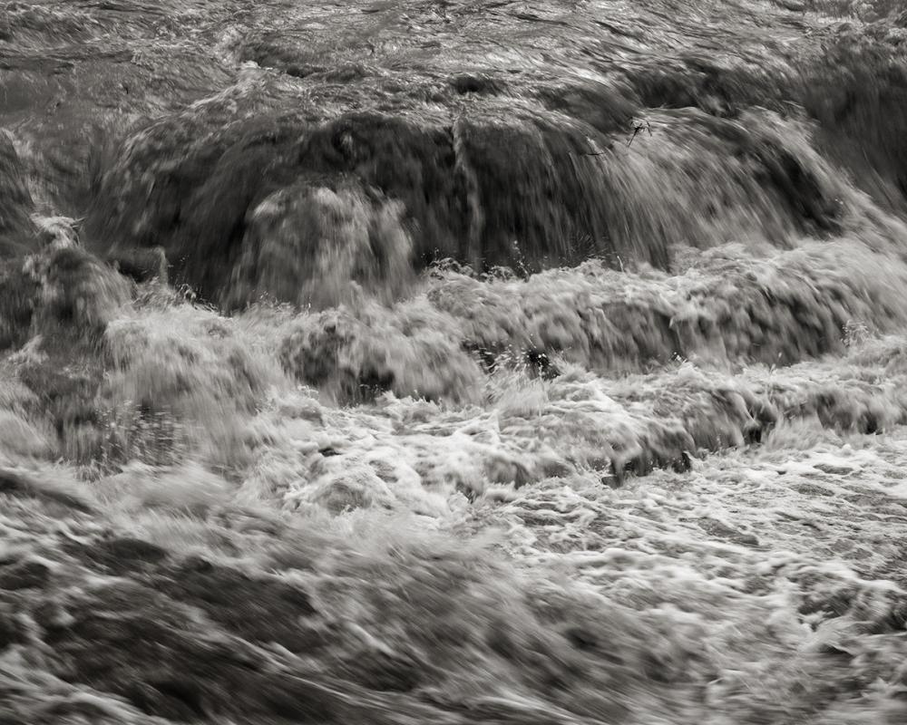 Winooski River at flood stage