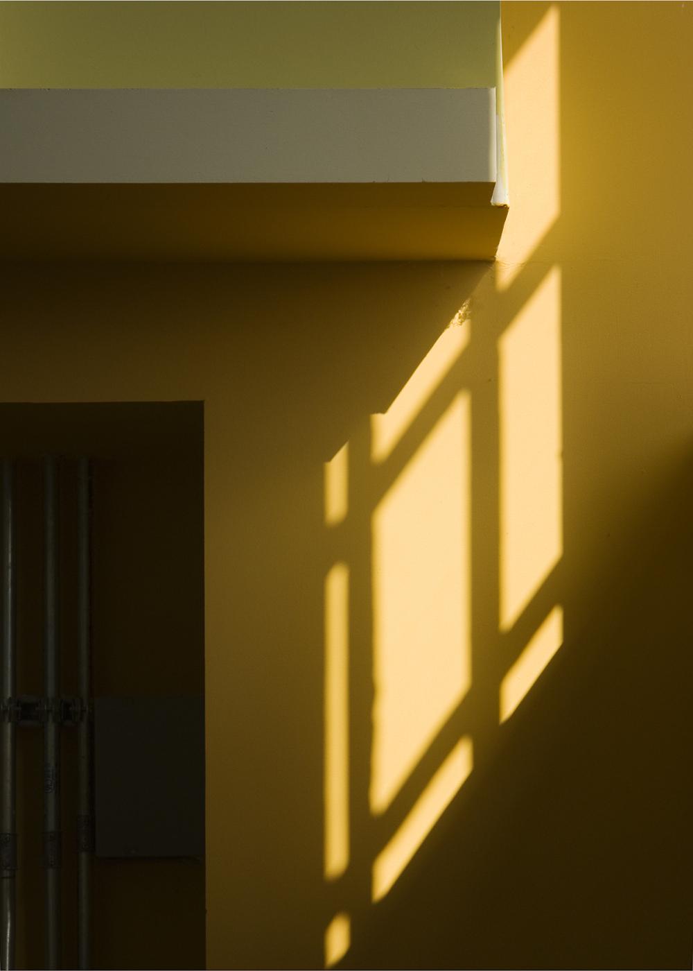 Sunlight on a Wall