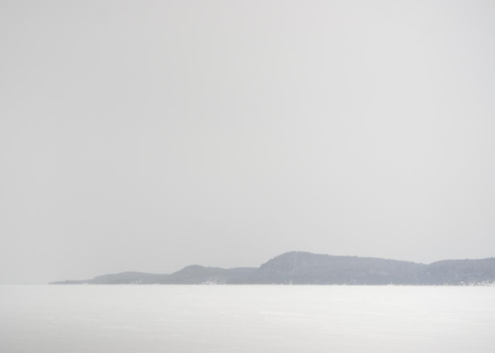 Frozen Lake Champlain