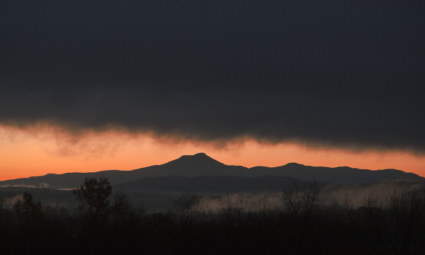 Dawn over Camel's Hump, Vermont
