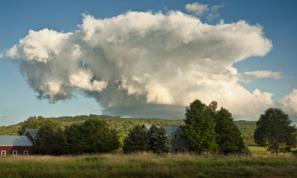 Cloud over Vermont