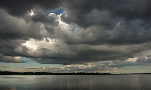 Clouds over Lake Champlain