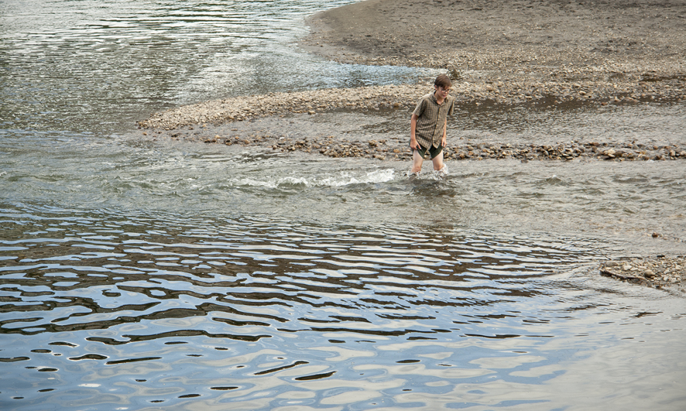Wade in the Mad River