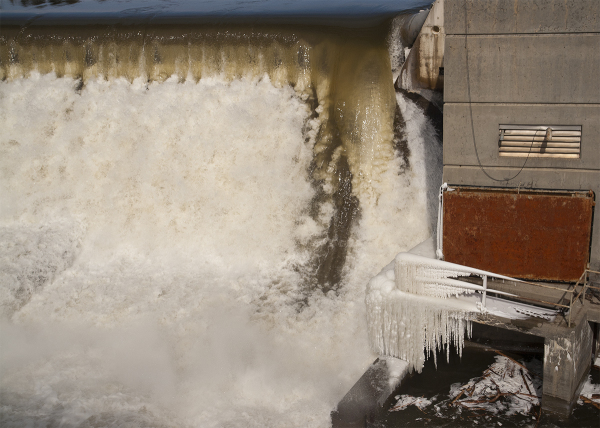 Hydrodam in Vermont