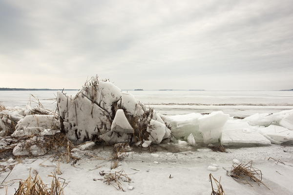 Ice Expansion on Lake Champlain