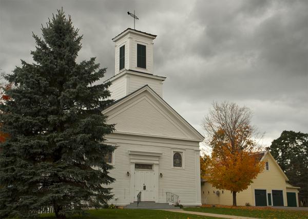 Clapboard Church in Lincoln