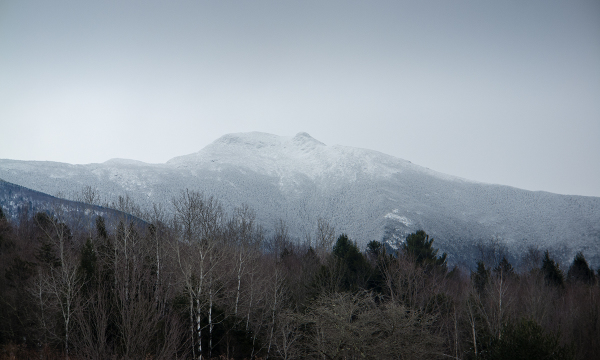 Mt. Mansfield in Snow