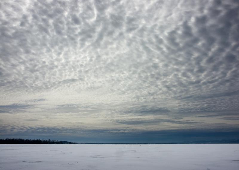 Late Ice on Lake Champlain