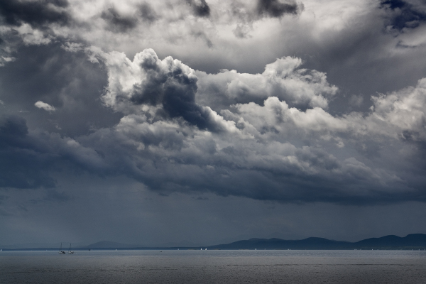 Storm on Lake Champlain