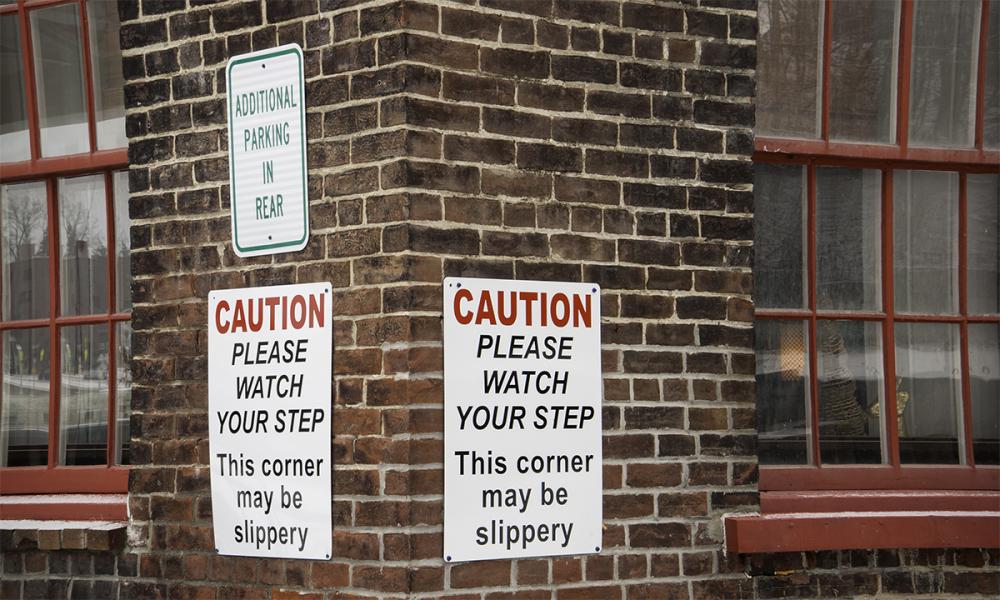 Slippery Corner