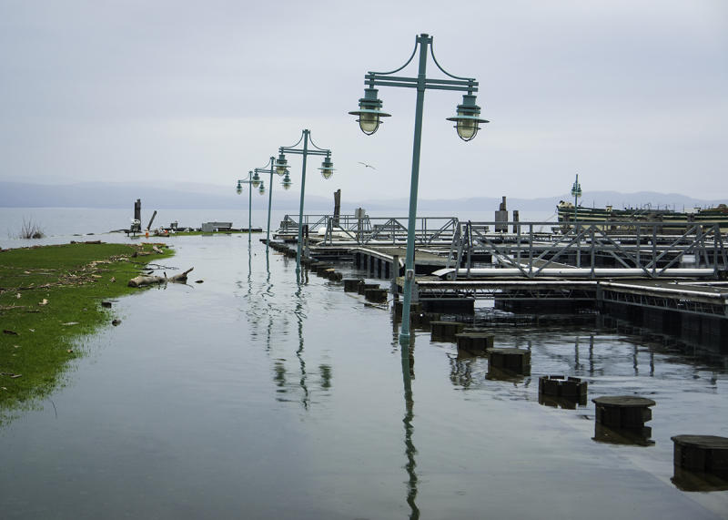 Lake Champlain in Flood