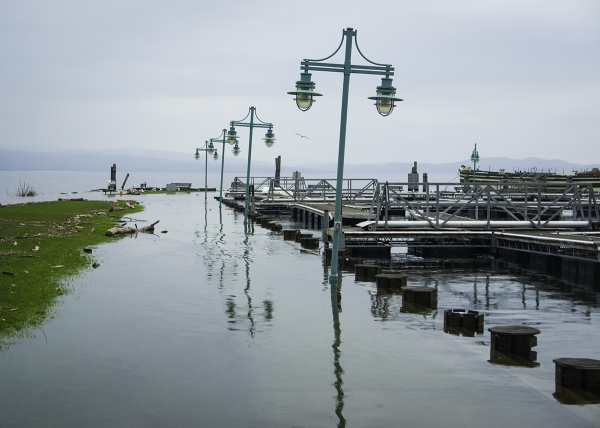 Lake Champlain in Flood