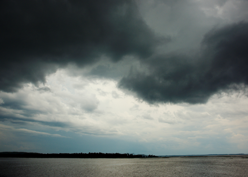Weather Front over Lake Champlain