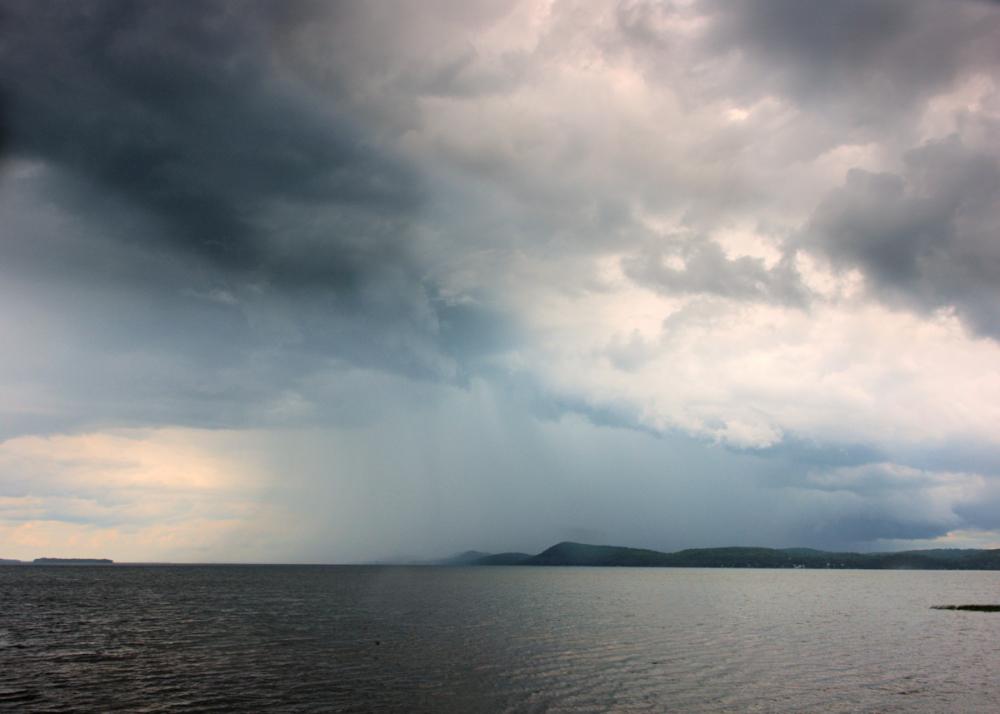 Approaching Rain Storm
