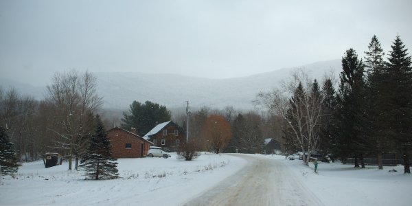 Snowy Day in Vermont