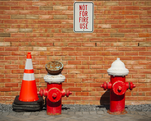 Paradoxical Fire Hydrants