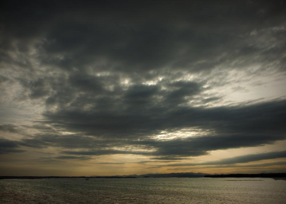 Sunset, Lake Champlain