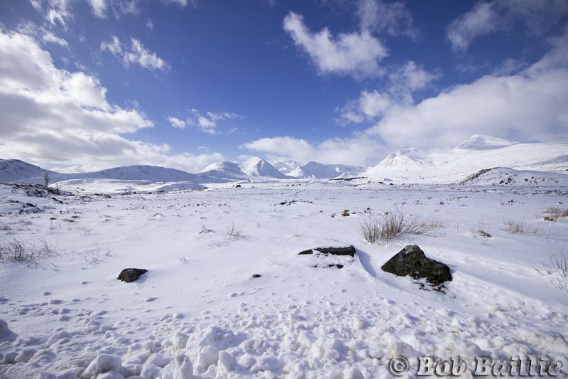 Snow in Glencoe 2