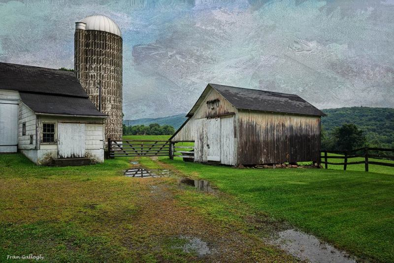 Farm Buildings in Dover Plains, NY